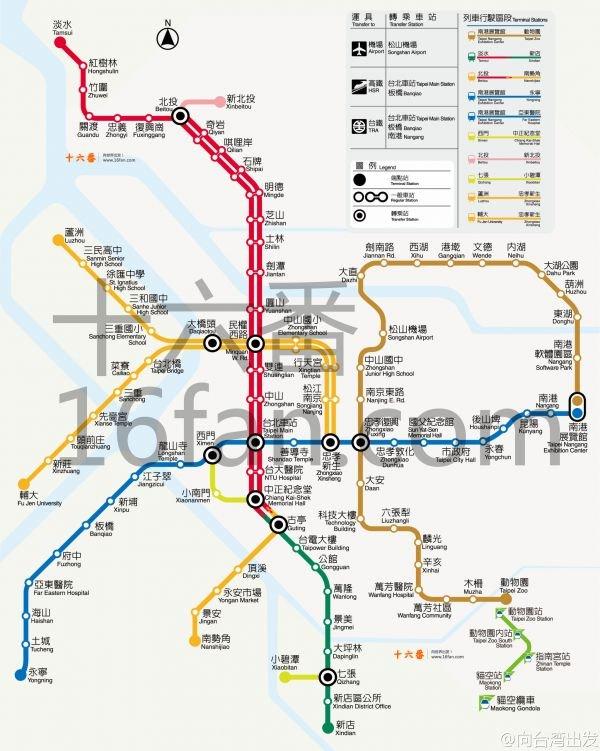 ●文山内湖线:动物园站南港展览馆站
