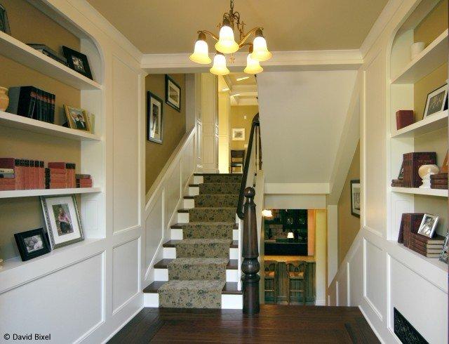 楼梯护墙板参考图片