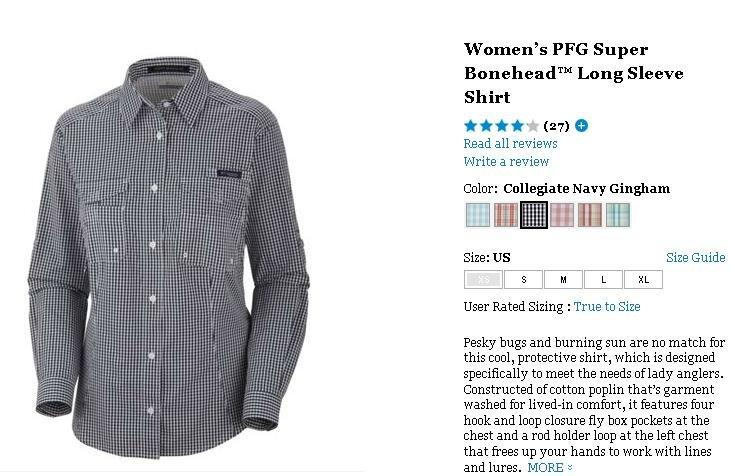 941e3520 1,http://www.columbia.com/Womens-Super-Bonehead%E2%84%A2-LS-Shirt-%7C-464-%7C-L/887253724156,default,pd.html?v=true.  L Color: Collegiate Navy Gingham