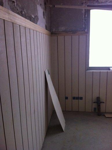 儿童房护墙板雏形