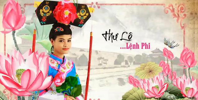 越南版《还珠》中的皇后-越南版还珠人物照