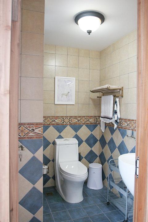 简欧式洗手间装修效果图