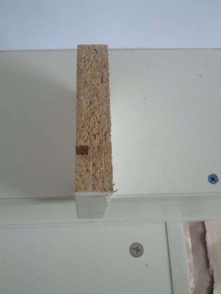 橱柜柜体板材切面