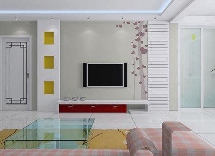图9-1电视背景墙设计图图片