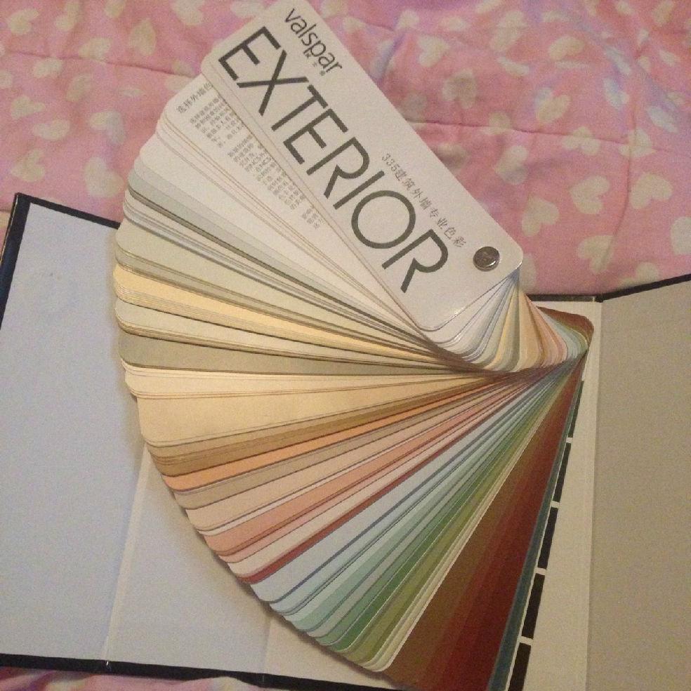 墙纸 装修日记/墙面,楼下预备用奶茶色,楼上预备用紫色再搭配墙纸~...