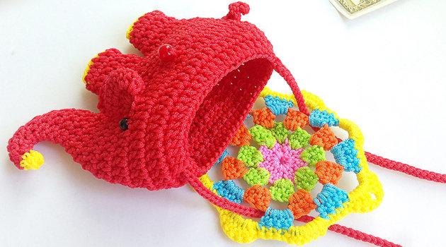 可爱小象单肩包 2014新品手工兔女郎大眼布偶玩具