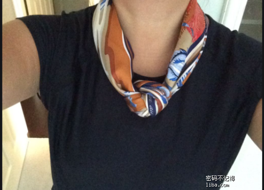 silk scarf outfit little knot - Google 搜尋 (2).png