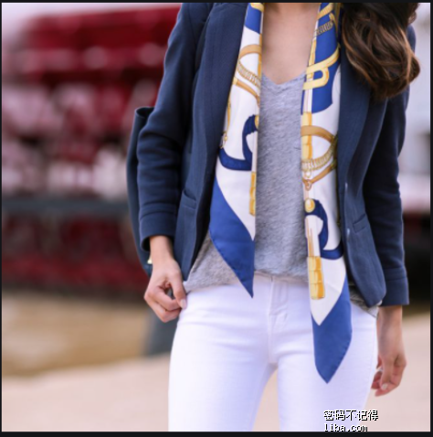 silk scarf outfit small tie - Google 搜尋.png